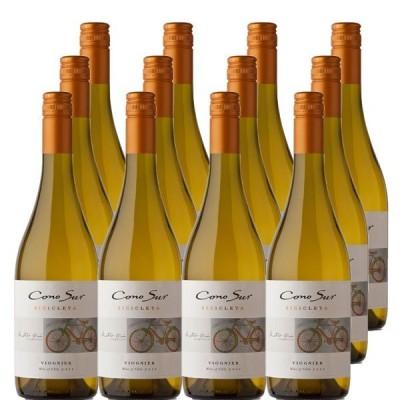 白ワイン コノスル ヴィオニエ ヴァラエタル(ビシクレタ) 750ml×12本 wine(新旧画像切り替え中)
