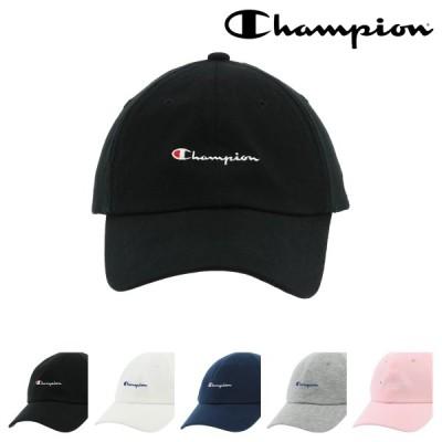 チャンピオン キャップ メンズ レディース 181-0169 Champion 帽子 コットン ローキャップ サイズ調節可能