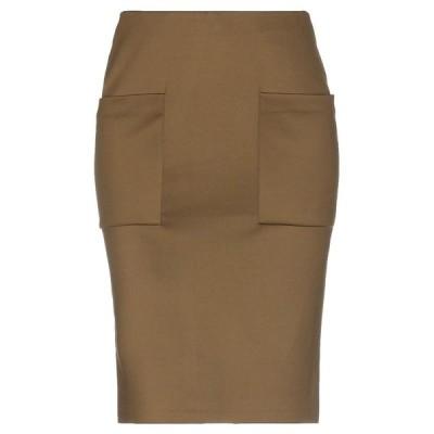 BY MALENE BIRGER ひざ丈スカート ファッション  レディースファッション  ボトムス  スカート  ロング、マキシ丈スカート カーキ