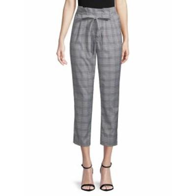リー&ヴィオラ レディース パンツ Plaid High-Rise Pants