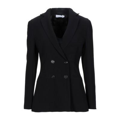 BARBA Napoli テーラードジャケット ブラック 44 レーヨン 100% テーラードジャケット