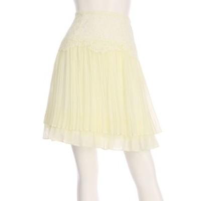 トランテアンソンドゥモード 31Sonsdemode スカート サイズS レディース 美品 ホワイト系 プリーツスカート【中古】20210130