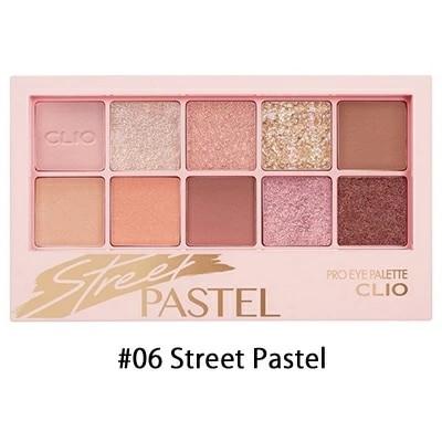 クリオ CLIO プロアイパレット #06 Street Pastel 0.6g×10 韓国コスメ 【ゆうパケット対応 3cm ※必ず注意事項をご確認の上ご選択ください。】