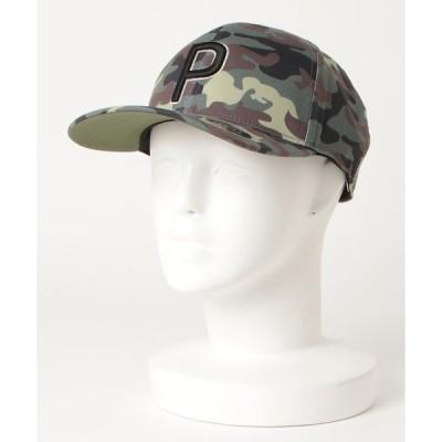 帽子 キャップ PUMA プーマ ゴルフ カモ パターン 110 P スナップバック キャップ