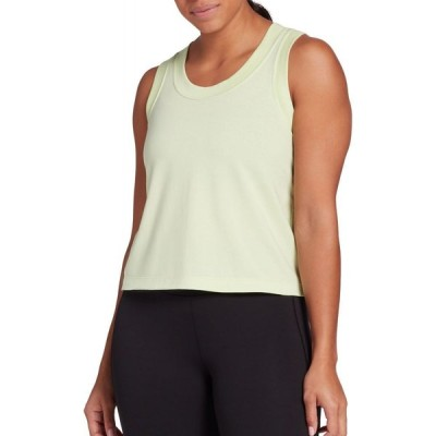 キャリー アンダーウッド CALIA by Carrie Underwood レディース タンクトップ トップス Everyday Muscle Tank Top (Regular and Plus) Spring Green