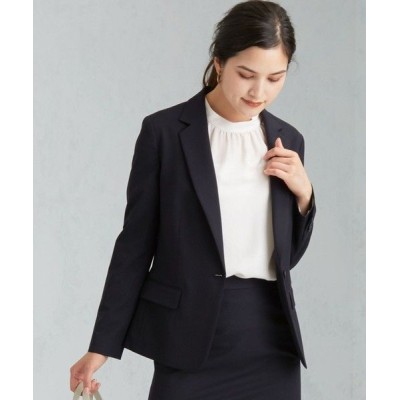 green label relaxing/グリーンレーベル リラクシング 【WORK TRIP OUTFITS】◆WTO D TW/PU テーラードジャケット NAVY 40