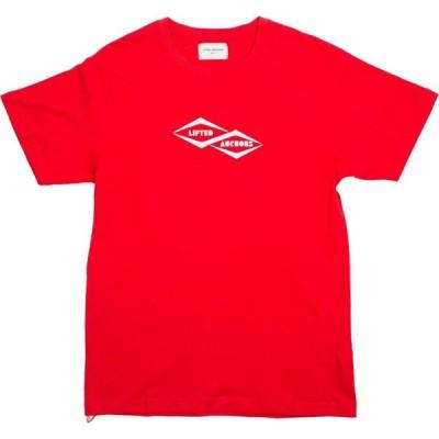 リフテッド アンカーズ Lifted Anchors メンズ Tシャツ トップス Membership Graphic Tee red