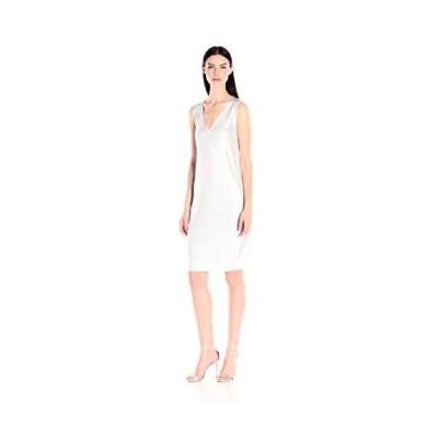 ドレス アンクライン Anne Klein レディース ドレス・ワンピース 10603826 Foil プリントed セーター ドレス. Optic White Combo