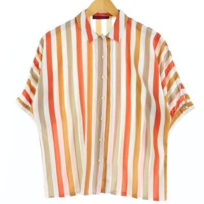 JEAN CHANCEL 半袖シャツ フランス製 レディースL /eaa026057