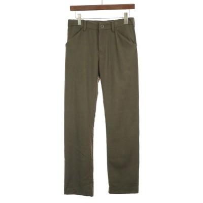 SUNSEA サンシー 18AW N.M Brushed Straight Pants ナイスマテリアルストレートパンツ カーキ 2 メンズ