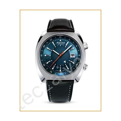 Alpina AL-555N4H6 Men's Startimer Pilot Heritage Navy Blue Dial Automatic Watch並行輸入品