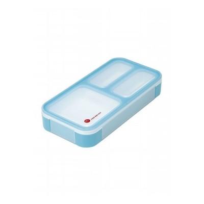 CBジャパン シービージャパン 薄型弁当箱 フードマンミニ スカイブルー 弁当 弁当箱 薄型 ランチ 持ち運び コンパクト 軽量