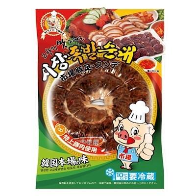 *韓国食品*クール便100市場味付けスンデ 250g [デボラ]