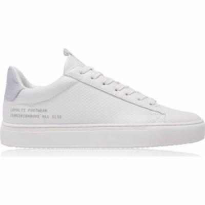 ロイヤリティ Loyalti メンズ スニーカー シューズ・靴 Heritage Trainers White/Baby Blue