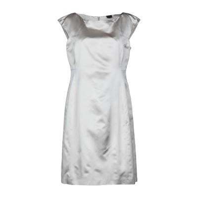 アスペジ ASPESI ミニワンピース&ドレス グレー 44 100% シルク ミニワンピース&ドレス