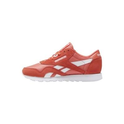 リーボック レディース 靴 シューズ CLASSIC NYLON RUNNING STYLE - Trainers - orange