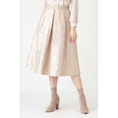 JILLSTUART/ジルスチュアート ◆アマレットフラワースカート BEIGE 2