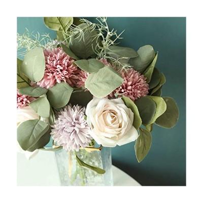 造花 花束 インテリア造花 バラ 蒲公英 フラワー バースデー お祝い 母の日 ホワイトデー 父の日 結婚祝い 新学