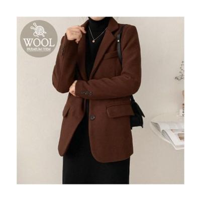 AWAB レディース ジャケット Nerd tootom wool jacket