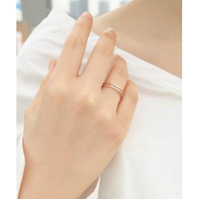 KU-CROISSANT / 【STEPHISIMO】シルバー925デザインリング WOMEN アクセサリー > リング