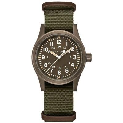 ハミルトン H69449961 HAMILTON 腕時計 Khaki Field Mechanical(カーキ フィールド メカ) 手巻き 38mm パワーリザーブ80時間 アースカラーPVD 正規品