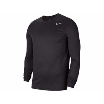 (取寄)ナイキ メンズ レジェンド 2.0 ロング スリーブ ティー Nike Men's Legend 2.0 Long Sleeve Tee Black Heather/Matte Silver