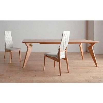 オーク材 VORD ヴォルド210 OC色 テーブル オークカラー W210×D90×H70セラウッド塗装 ウォールナット RN色があり 大川製