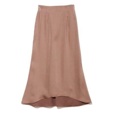 スカート 《musee》ヴィンテージサテンナロースカート