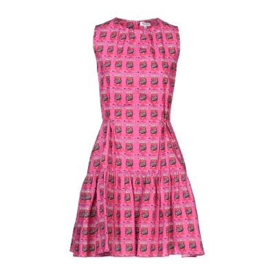 ケンゾー KENZO ミニワンピース&ドレス フューシャ 34 コットン 100% ミニワンピース&ドレス