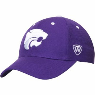 Top of the World トップ オブ ザ ワールド スポーツ用品  Top of the World Kansas State Wildcats Purple Dynasty Memory Fit Fitted H