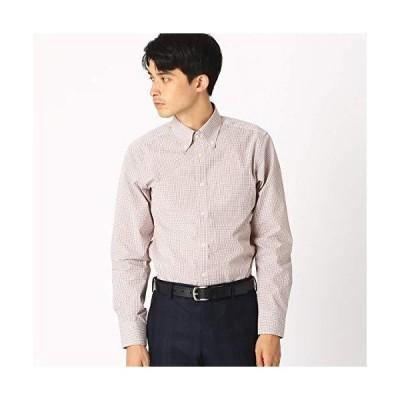 (コムサ イズム) COMME CA ISM 《イージーケア・抗菌防臭加工》 カラーチェック ボタンダウンカラーシャツ 47-12HN05-