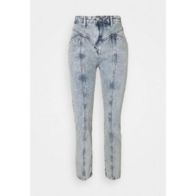 トレンドヨル デニムパンツ レディース ボトムス Slim fit jeans - blue