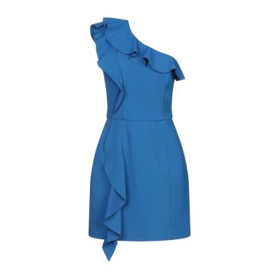 REBECCA VALLANCE ミニワンピース&ドレス ブルー 4 ポリエステル 97% / ポリウレタン 3% ミニワンピース&ドレス