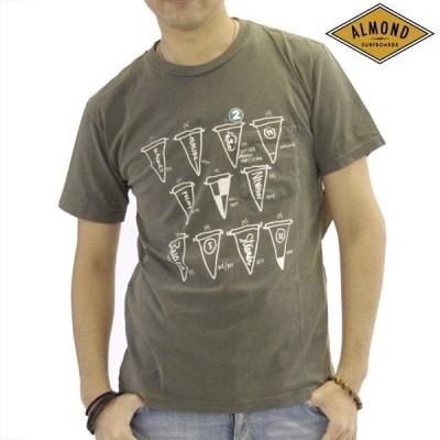 アーモンドサーフボードデザイン スライトリー チョッピー コラボ Tシャツ メンズ ポケット Almond Surfboards SLIGHTLY CHOPPY サーフ ブランド ファッション
