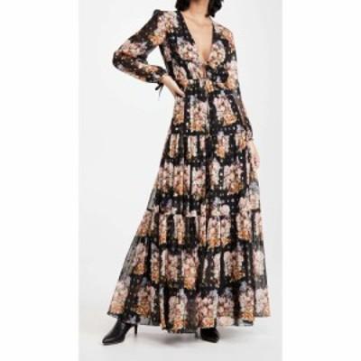 ノア ド ボルゴ Borgo de Nor レディース ワンピース ワンピース・ドレス Freya Dress Bouquet/Black