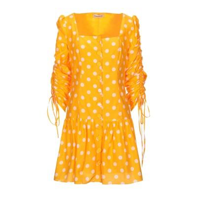 NICHOLAS ミニワンピース&ドレス オレンジ 6 コットン 70% / シルク 30% ミニワンピース&ドレス
