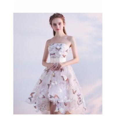 結婚式 ドレス パーティー ロングドレス 二次会ドレス ウェディングドレス お呼ばれドレス 卒業パーティー 成人式 同窓会hs55
