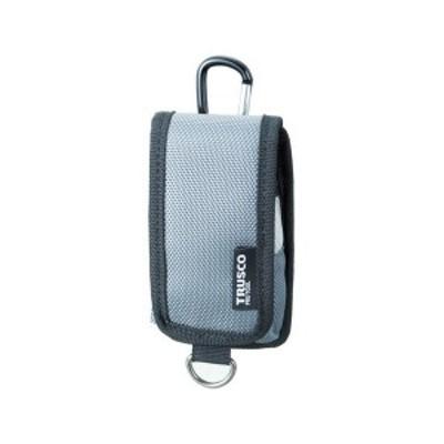 コンパクトツールケース 携帯電話用 グレー TRUSCO TCTC1202GY-3100