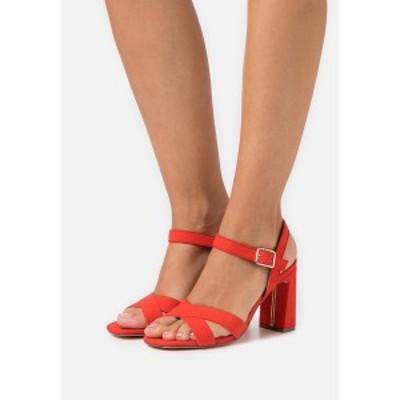 ドロシーパーキンス レディース サンダル シューズ SELENA BLOCK  - High heeled sandals - coral coral