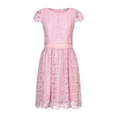 ブルーガール ブルマリン BLUGIRL BLUMARINE ミニワンピース&ドレス ピンク 42 ポリエステル 100% ミニワンピース&ドレス