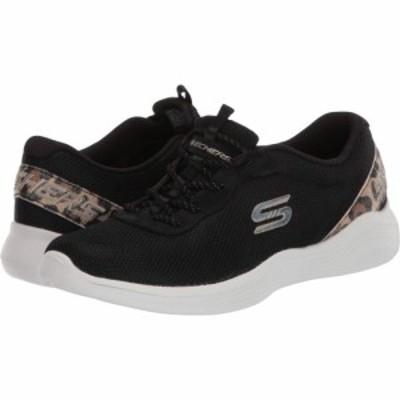 スケッチャーズ SKECHERS レディース スニーカー シューズ・靴 Envy - Had Fun Black Leopard