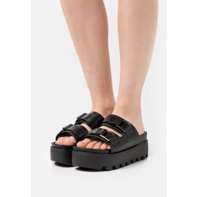 レディース 靴 シューズ SORA - Heeled mules - black