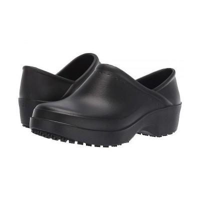 Shoes for Crews レディース 女性用 シューズ 靴 クロッグ ミュール Cobalt - Black