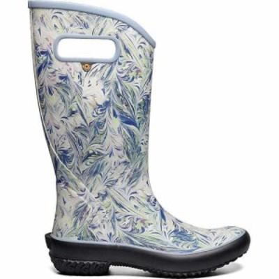 ボグス Bogs レディース レインシューズ・長靴 シューズ・靴 Rainboot Marble Boot Periwinkle