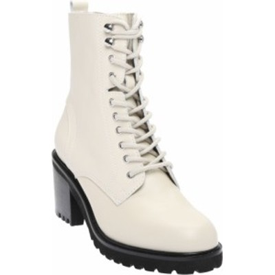 スティーブ マデン レディース ブーツ・レインブーツ シューズ Women's Steve Madden Brandt Mid Calf Boot Bone Leather