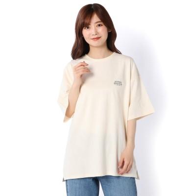 【SNOOPY】スヌーピー バックプリント オーバーTシャツ