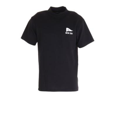ニューエラ(NEW ERA)ミドルネック Tシャツ ピンフラッグロゴ 12674297
