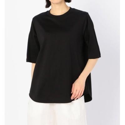 【ビショップ/Bshop】 【handvaerk】ラウンドテール ロングTシャツ WOMEN