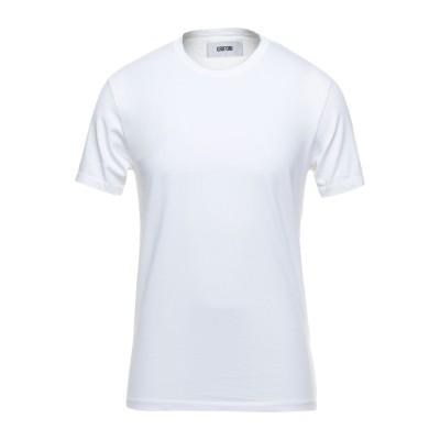 マウロ グリフォーニ MAURO GRIFONI T シャツ ホワイト S コットン 100% T シャツ