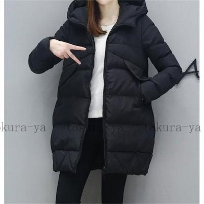 2020新作 中綿ジャケット コート レディース ジャケット ダウンコート フード付き ゆったり 冬 防寒服 20代 30代 40代 50代 通勤 アウター